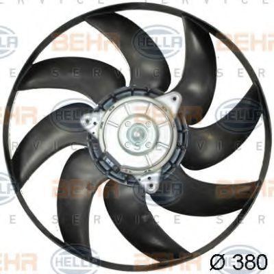 Вентилятор, охлаждение двигателя HELLA 8EW351041421