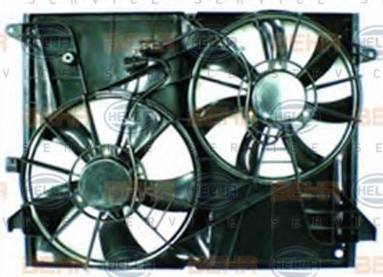 Вентилятор, охлаждение двигателя HELLA 8EW351041701
