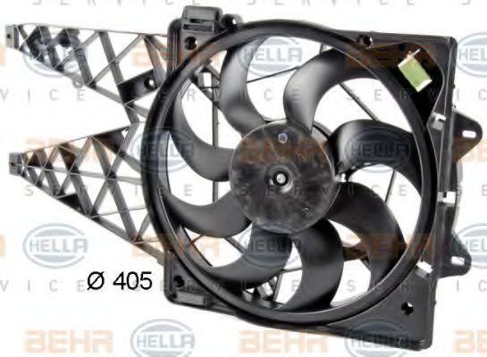 Вентилятор охлаждения радиатора HELLA 8EW351042631