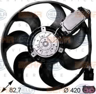Вентилятор охлаждения двигателя HELLA 8EW 351 043-231