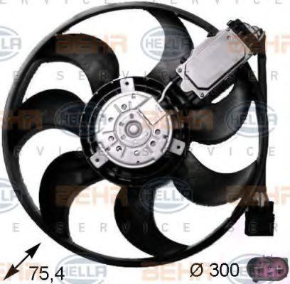 Вентилятор охлаждения двигателя HELLA 8EW 351 043-241