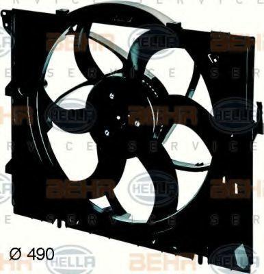 Вентилятор, охлаждение двигателя HELLA 8EW351043341