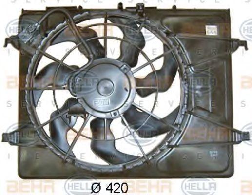 Вентилятор охлаждения двигателя HELLA 8EW 351 043-351