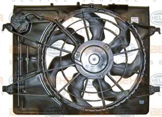 Вентилятор охлаждения двигателя HELLA 8EW 351 043-361