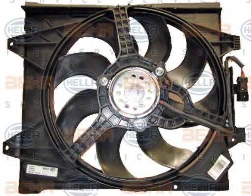 Вентилятор, охлаждение двигателя HELLA 8EW351149061