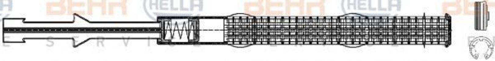 Осушитель, кондиционер HELLA 8FT351197791