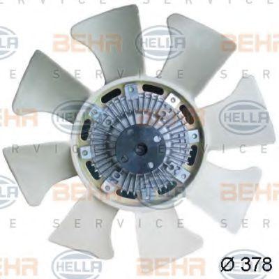 Вентилятор, охлаждение двигателя HELLA 8MV376734301