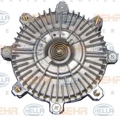Сцепление, вентилятор радиатора HELLA 8MV376734471