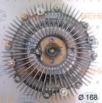 Сцепление, вентилятор радиатора HELLA 8MV376758621