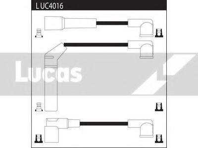 Комплект проводов зажигания LUCAS LUC4016
