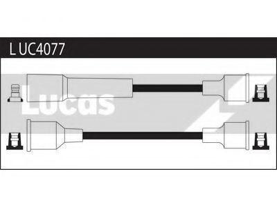 Комплект проводов зажигания LUCAS LUC4077