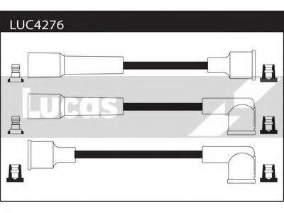 Комплект проводов зажигания LUCAS LUC4276