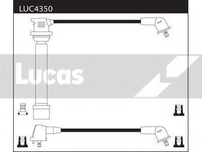 Комплект проводов зажигания LUCAS LUC4350