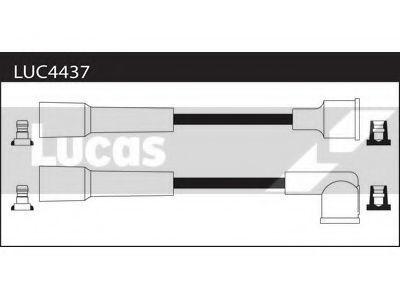 Комплект проводов зажигания LUCAS LUC4437