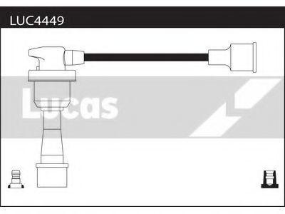 Комплект проводов зажигания LUCAS LUC4449