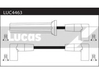 Комплект проводов зажигания LUCAS LUC4463