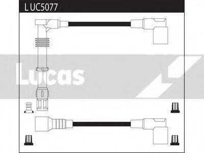 Комплект проводов зажигания LUCAS LUC5077