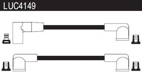 Комплект проводов зажигания LUCAS LUC4149