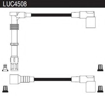 Комплект проводов зажигания LUCAS LUC4508