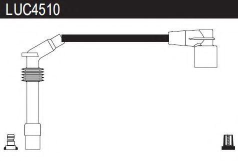 Комплект проводов зажигания LUCAS LUC4510