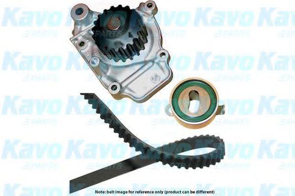 Водяной насос + комплект зубчатого ремня KAVO PARTS DKW2008