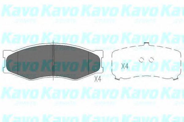 Колодки тормозные KAVO PARTS KBP-6523
