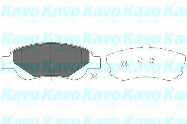 Колодки тормозные KAVO PARTS KBP9024