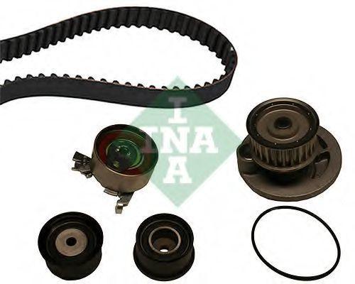 Насос водяной с ремнем и роликом INA 530004930
