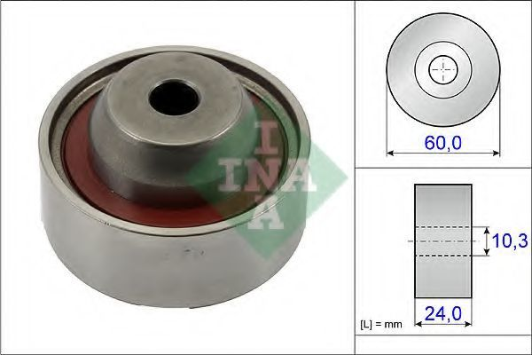Ролик обводной ремня ремня ГРМ INA 532067410