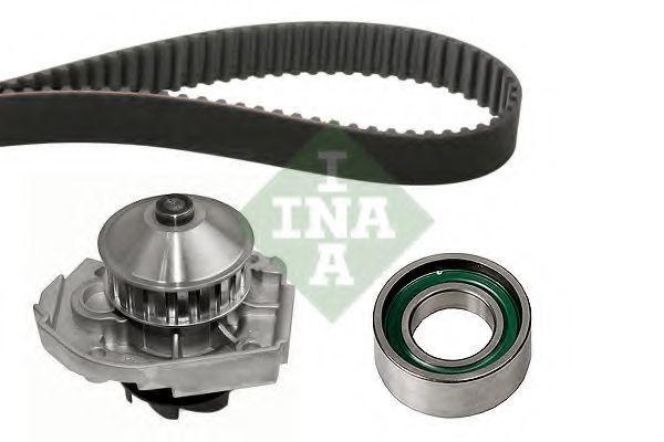 Ремкомплект ГРМ с водяным насосом INA 530020430