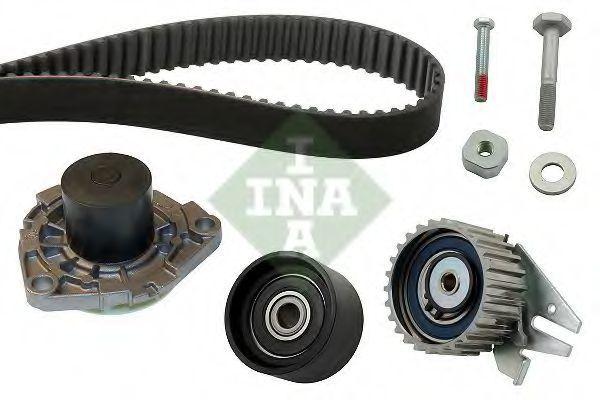 Ремкомплект ГРМ с водяным насосом INA 530 0562 30