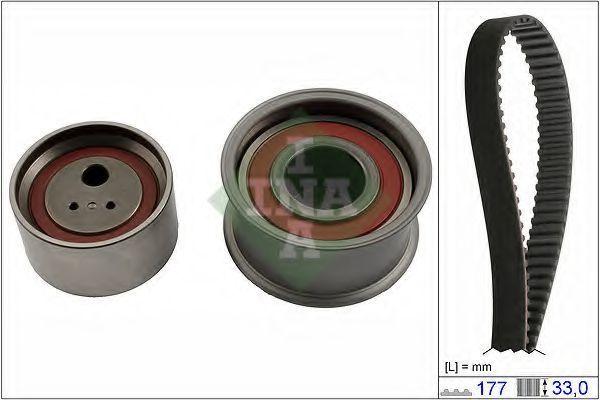 Ремкомплект ремня ГРМ INA 530056610