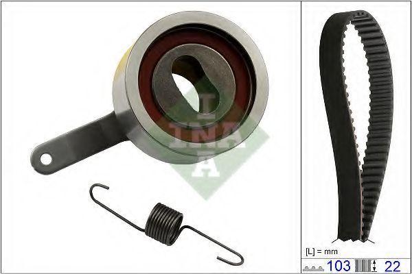 Ремкомплект ремня ГРМ INA 530060010