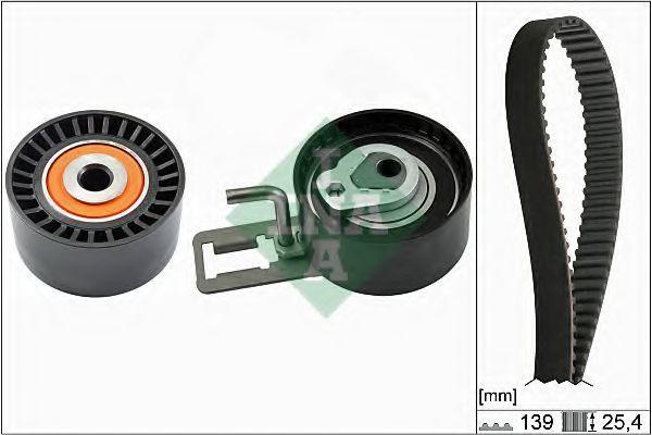 Ремкомплект ремня ГРМ INA 530061010