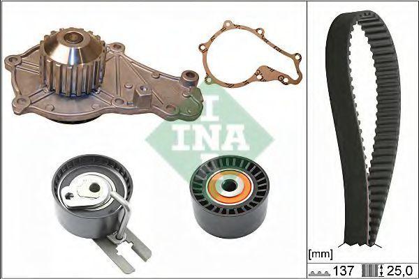 Насос водяной ролик ремень INA 530063230