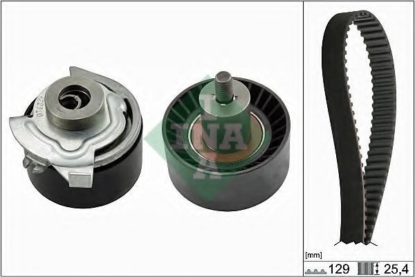 Комплект ремня ГРМ INA 530066210