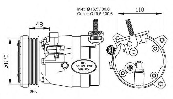 Опора двигателя NRF 32678