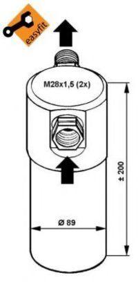 Осушитель кондиционера NRF 33081