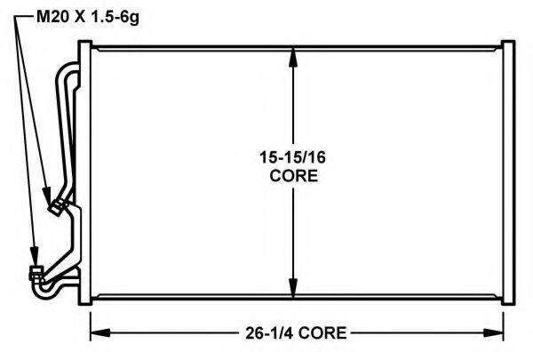 Конденсатор, кондиционер NRF 35155