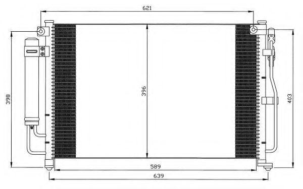 Конденсатор, кондиционер NRF 35504