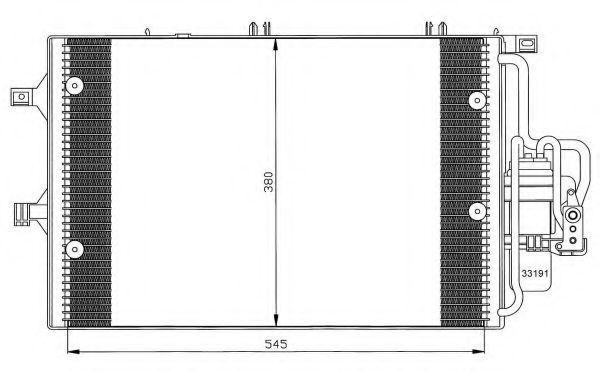 Конденсор кондиционера NRF 35529