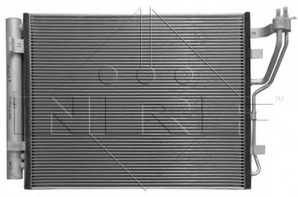 Радиатор кондиционера NRF 35986