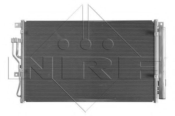 Радиатор кондиционера NRF 35989