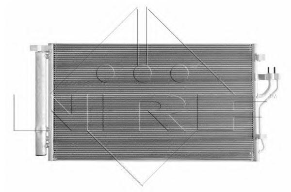 Конденсор кондиционера NRF 35998