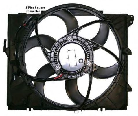 Вентилятор охлаждения двигателя NRF 47209