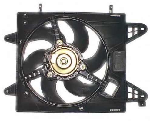 Вентилятор охлаждения двигателя NRF 47226
