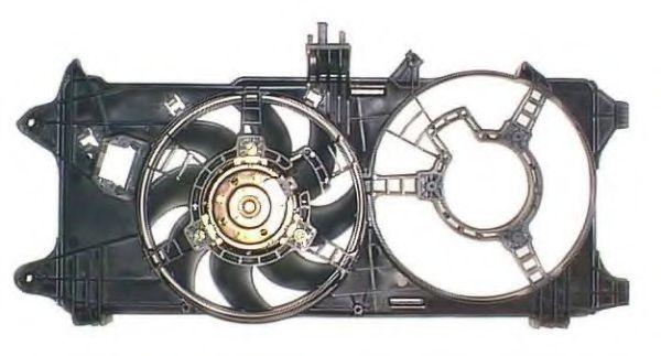 Вентилятор радиатора Doblo 1.3MJTD-1.9JTD 2000-2005 без кондиц NRF 47234