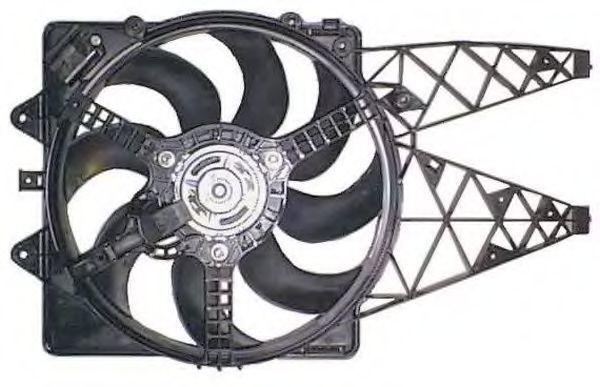 Вентилятор охлаждения двигателя NRF 47237