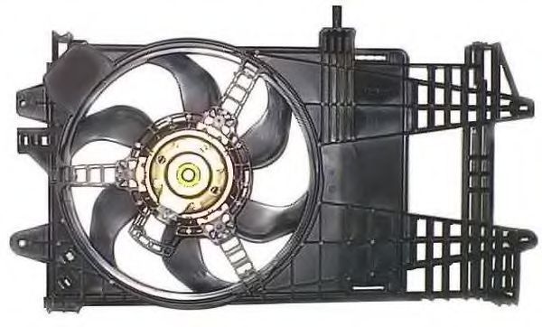Вентилятор охлаждения двигателя NRF 47245