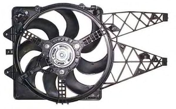 Вентилятор охлаждения двигателя NRF 47252